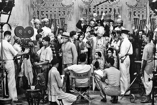 A film set in the 1930s, with Ezra Mir in the director's chair; and