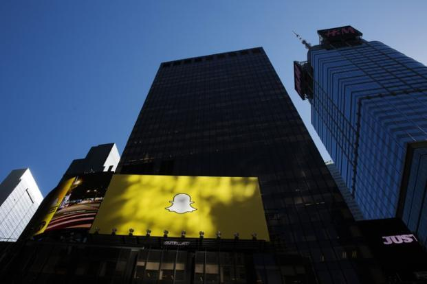 Snap is aiming to create a product roll-out that feels like a game, hoping to avoid the fate of unpopular wearable electronics, like Google Glass. Photo: Reuters
