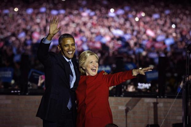 A sponsor could be 'your' voice in the room like Barack Obama was for Hillary Clinton during US presidential elections, even though the latter lost. Photo: Charles Mostoller/Bloomberg