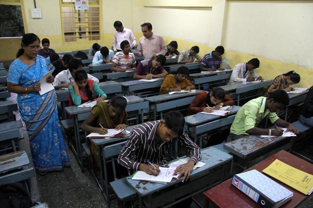 Parents of students, who want to appear for 2017 NEET , were urging the state govt to conduct the medical admission exam in Gujarati for the benefit of Gujarati-medium students. File photo: Mint