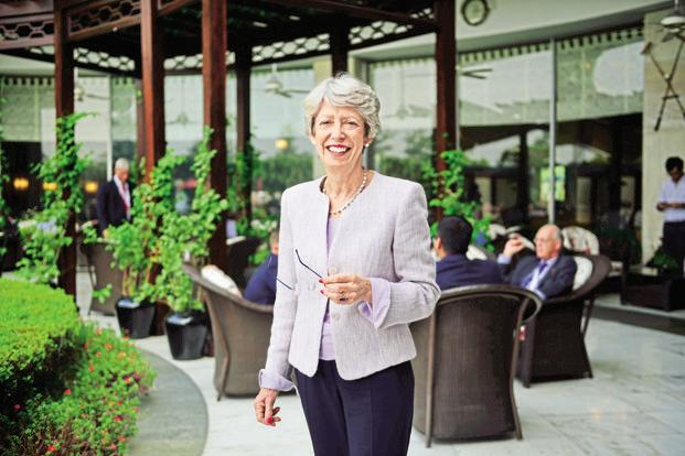 UK India Business Council's Patricia Hewitt. Photo: Pradeep Gaur/Mint