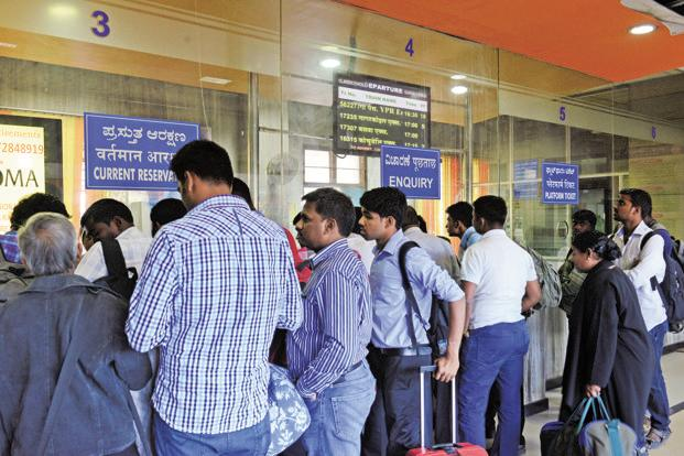Railways expect to make the e-wallet system operational across the country early next year. Photo: Hemant Mishra/Mint