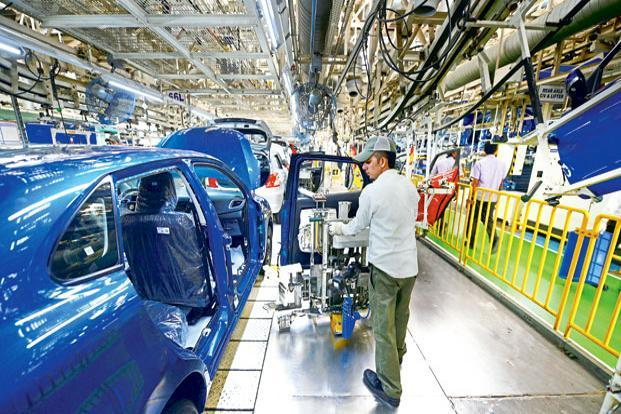The underlying growth momentum in manufacturing, trade, construction and transportation is already weak. Photo: Ramesh Pathania/Mint