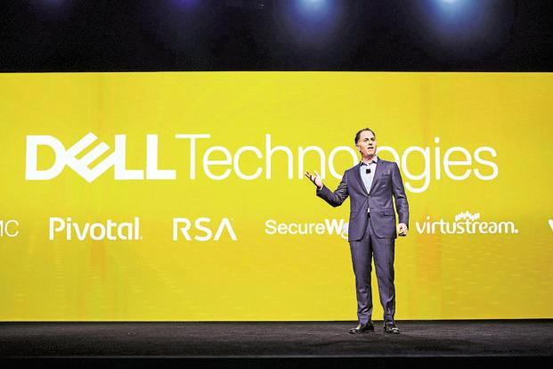 Dell chairman and CEO Michael Dell. The Dell-EMC merger has led to the formation of Dell Technologies.