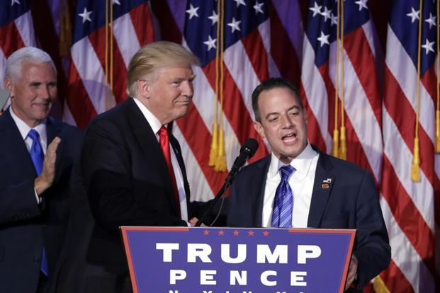Donald Trump confidants say that Reince Priebus is closer to the president-elect than many outsiders know. Photo: AP