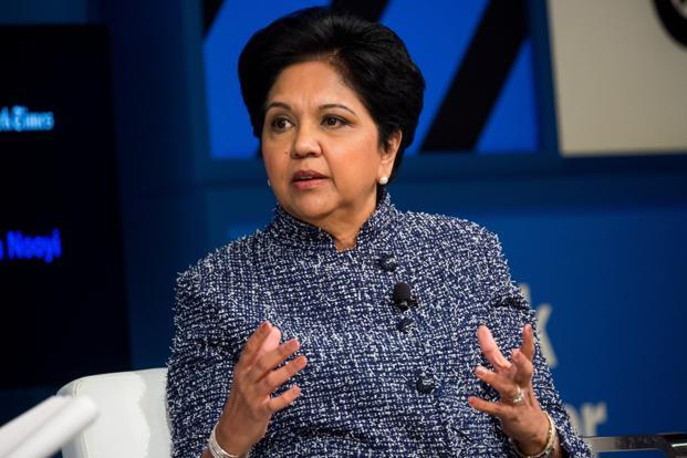 PepsiCo CEO Indra Nooyi said the US needs to 'pick up the big issues of technological unemployment, global trade, immigration', which need reforms. Photo:  Bloomberg