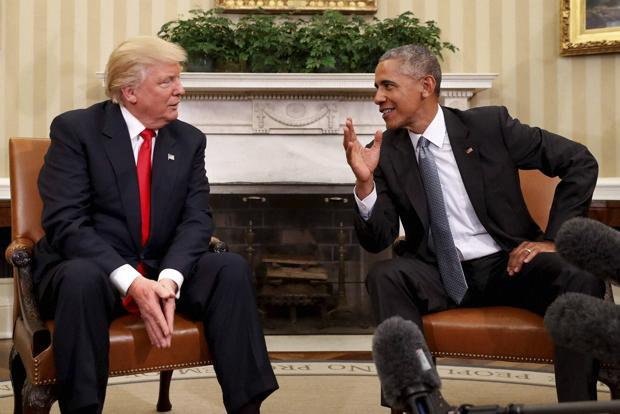 Barack Obama said on Monday he believed Donald Trump would be pragmatic in office and not approach the country's problems from an ideological perspective. Photo: