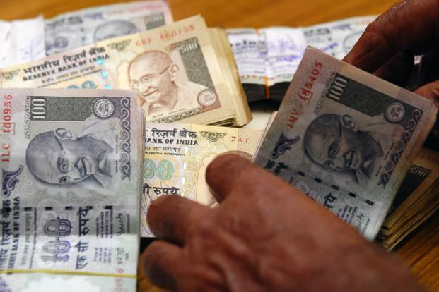 Indian National Rupee (INR) opened at Rs67.58 against the US dollar and touched a low of 67.83. So far this year, it has shed 2.31%. Photo: Mint