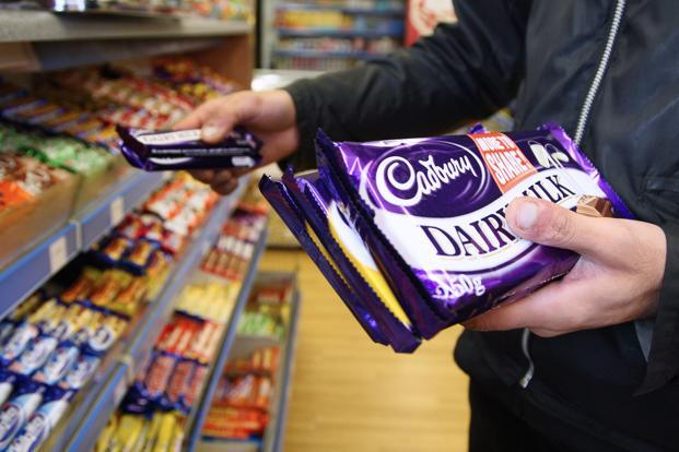 The Cadbury Dairy Milk portfolio continues to be the biggest chocolate brand in India with about 41% market share as of Q3 2016. Photo: Bloomberg
