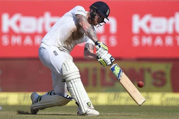 Ben Stokes got his maiden century against India at Rajkot