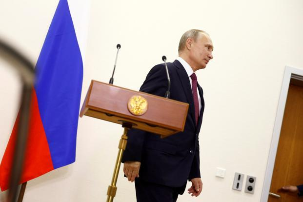 President Vladimir Putin signed an executive order on Wednesday removing Russia's signature from the International Criminal Court's founding treaty. Photo: Reuters