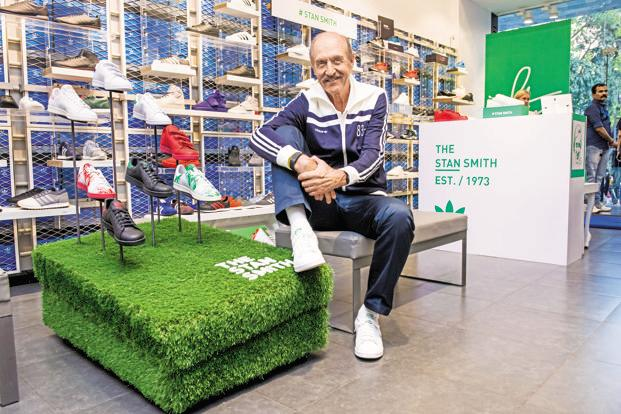 Stan Smith at the Adidas Originals store in Mumbai. Photo: Aniruddha Chowdhury/Mint