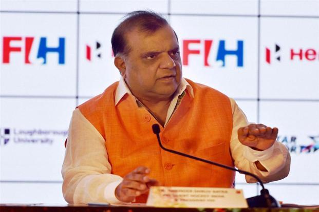 Newly-appointed president of the International Hockey Federation Narinder Batra will be looking at developing a lot of content around the game of hockey. Photo: Atul Yadav/PTI
