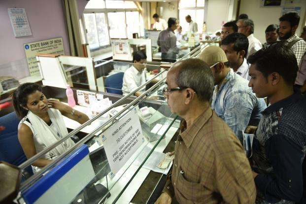 The government has asked banks and post offices to report to the I-T department all deposits above Rs2.50 lakh in savings accounts. Photo: Indranil Bhoumik/Mint