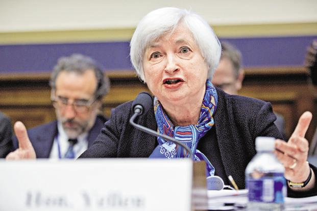 The Fed chair Janet Yellen warned of the risks attached to waiting too long before raising rates. Photo: Bloomberg