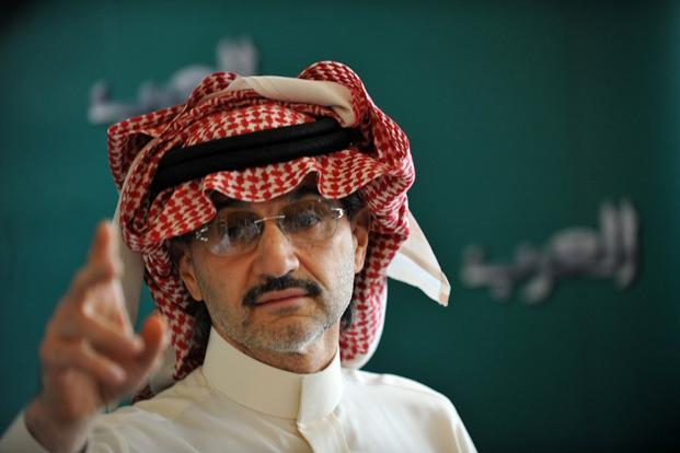 Saudi billionaire Prince Alwaleed Bin Talal . Photo: AFP