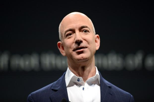 Amazon founder and CEO Jeff Bezos. Photo: AFP