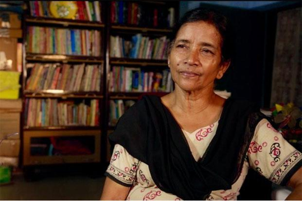 Sudha Varghese, who empowers girls from Bihar's downtrodden castes. Photo: Sumit Sharma