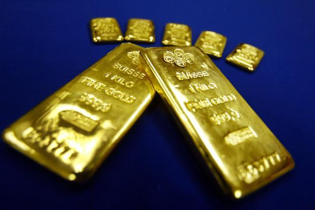 This month, investors pulled $576 million from SPDR Gold Shares, the largest exchange-traded fund backed by the metal. Photo: AFP