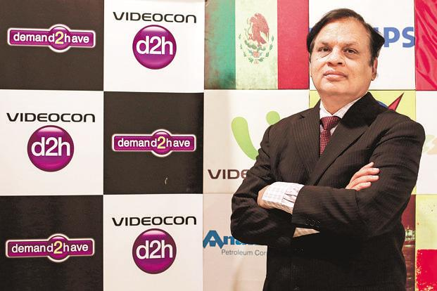 Videocon Industries CMD Venugopal Dhoot. For Videocon, almost the entire promoters' holding in the company—about 98.8%—was pledged, which has been the case for the past five quarters. Photo: Reuters