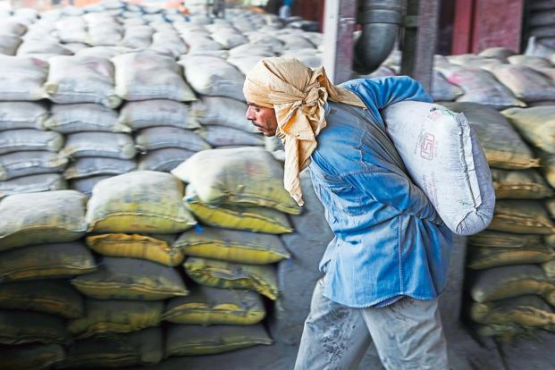 During the quarter, India Cements's finance cost came down by 11.08% to Rs87.56 crore while its tax expenses declined by 19.39% to Rs29.25 crore Photo: Bloomberg