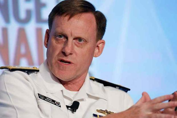 National Security Agency (NSA) director Admiral Michael Rogers is being considered as a potential new director of national intelligence by President-elect Donald Trump, a post that oversees all 17 US intelligence agencies. Photo: Reuters