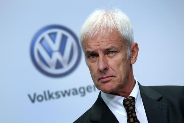 Volkswagen CEO Matthias Mueller. Photo: AFP