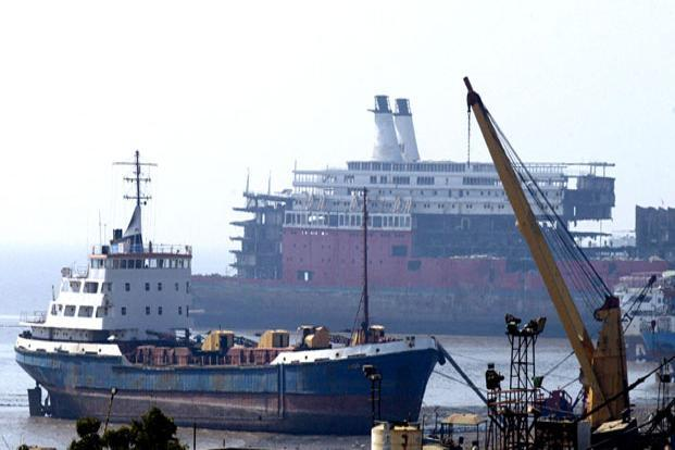 Scrapping of older ships and easing of overcapacity issues to some extent also aided shipping rates. Photo: AFP