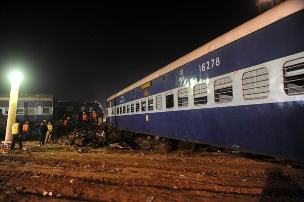 The crash is a stark reminder of how hard it will be for PM Narendra Modi to fulfil his promise to transform the railways into a more efficient, safer network befitting the country's economic power. AFP