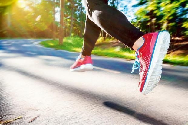 Running helps you discover your neighbourhood and new routes.Photo:iStock