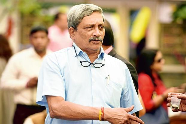 Defence minister Manohar Parrikar said that as per the new policy, there has to be a new list. Photo: HT