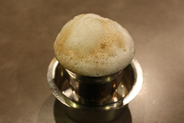 South Indian filter coffee