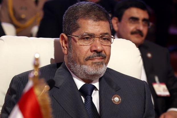 Mohamed Morsi was Egypt's first freely elected leader, taking power after the 2011 uprising that toppled longtime strongman Hosni Mubarak. Photo: AFP