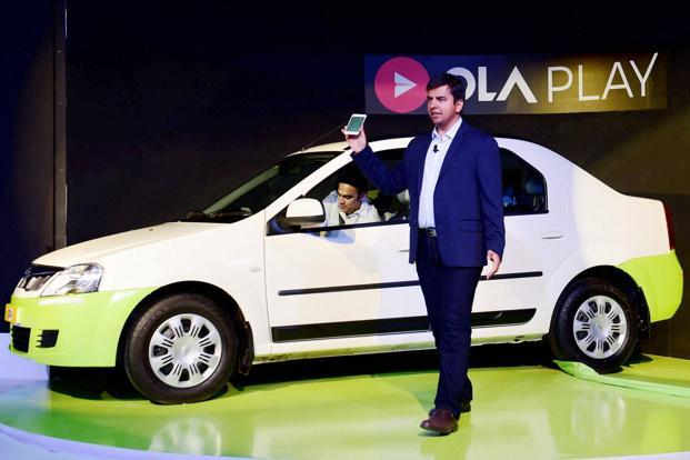 Ola co-founder and CEO Bhavish Aggarwal. Photo: PTI