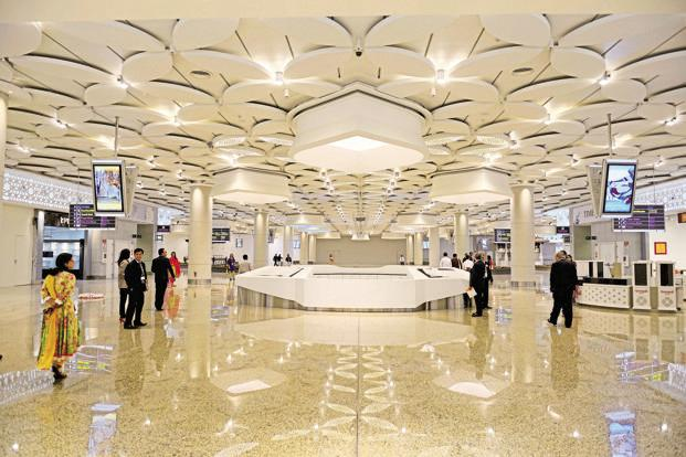 File photo of the Mumbai airport. GVK Airport owns a majority 50.5% stake in Mumbai International Airport and 43% in Bengaluru International Airport. Photo: Abhijit Bhatlekar/Mint