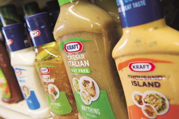 The most expensive brand acquisition of all time happened last year when Kraft Foods was bought by Heinz. Photo: Bloomberg