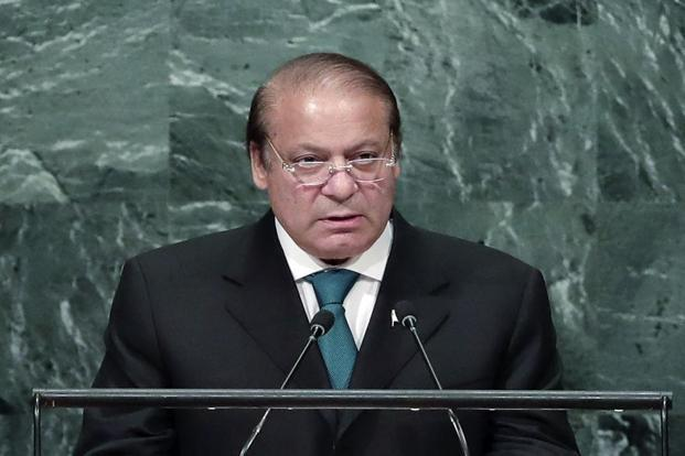 Nawaz Sharif said Pakistan will never abandon their Kashmiri brethren and will continue to support them. Photo: AP