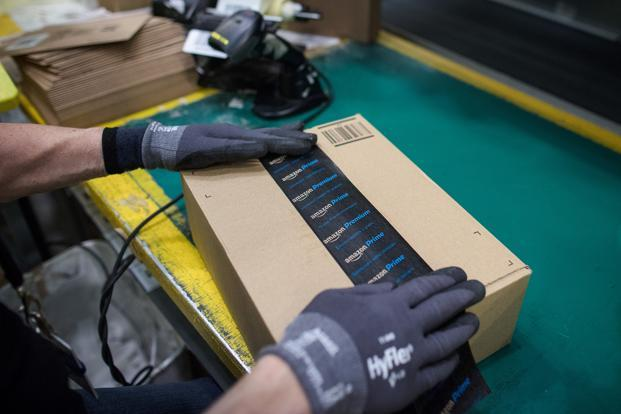 The ruling clears a major obstacle for Amazon heading into its first holiday shopping season since contracting with ATSG and another carrier to operate a fleet of cargo planes to shuttle inventory around the country. Photo: Bloomberg