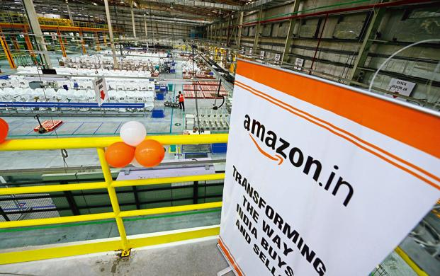 Since India doesn't allow foreign direct investment in online retail, Amazon works as a marketplace, connecting customers with third-party sellers on its platform. Photo: Mint