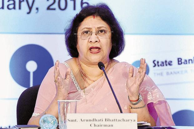 SBI chairman Arundhati Bhattacharya says SBI Pay is expected to be a game changer in the digital payment ecosystem as the bank has the largest customer base in the country. Photo: PTI