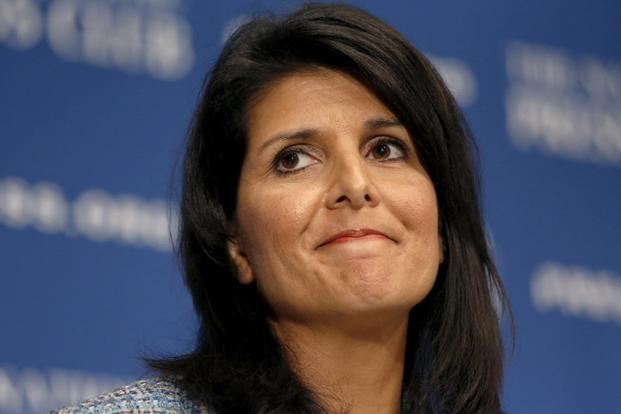 A file photo of South Carolina governor Nikki Haley. Photo: Reuters