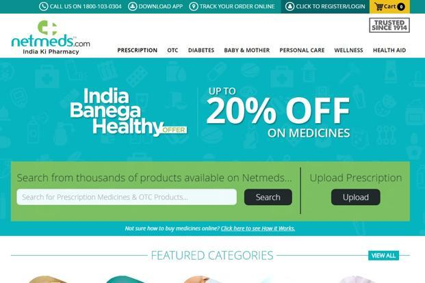Chennai-based Netmeds, founded last year by the Pradeep Dadha family, is trying to establish a toehold in the $15 billion retail pharma market dominated by mom-and-pop model stores.