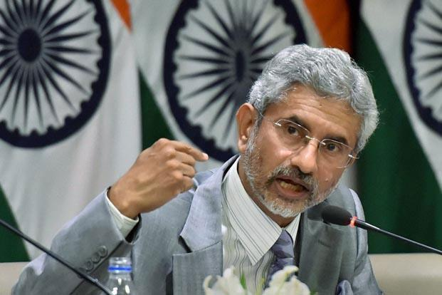 A file photo of Indian foreign secretary S. Jaishankar. Photo: PTI