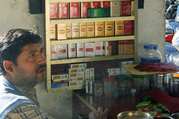 The FDI is already prohibited in manufacturing of cigars, cigarettes and tobacco substitutes in India. But it is permitted in the technology collaboration. Photo: AFP
