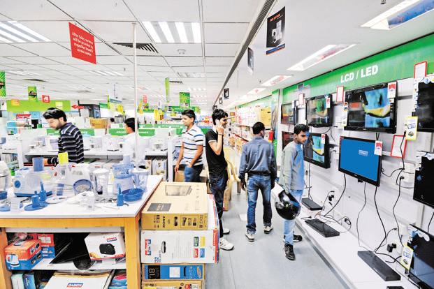 Hometech Digital initially plans to sell Akai products across 3,000 outlets, mostly targeting tier II and tier III cities. Photo: Priyanka Parashar/Mint