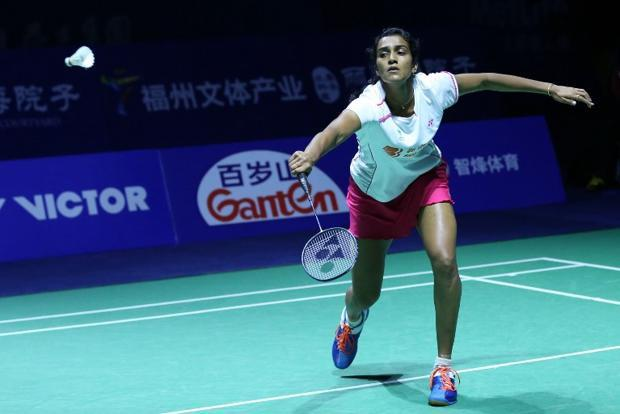 P.V. Sindhu. Photo: AFP