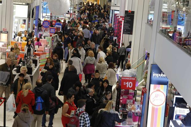For years, Black Friday has started the holiday shopping season in the US with retailers offering steep discounts. Photo: AFP