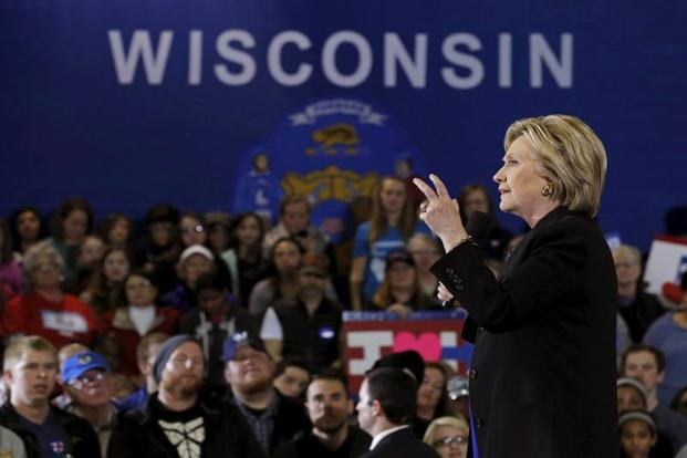 Trump beat Clinton in Pennsylvania by 70,010 votes, in Michigan by 10,704 votes and in Wisconsin by 27,257 votes. File photo: Reuters