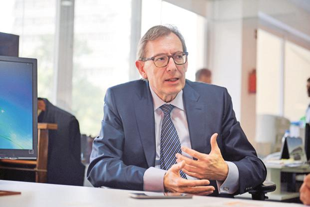 The Boston Consulting Group chairman Hans-Paul Burkner. Photo: Pradeep Gaur/Mint