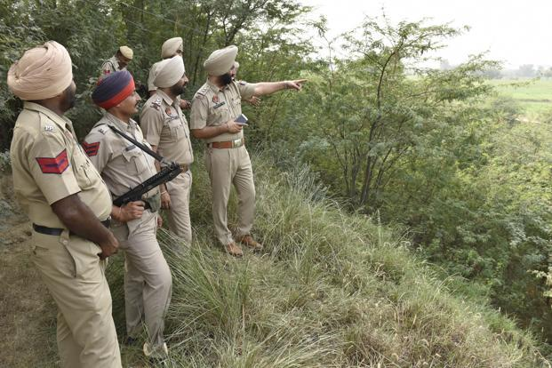 The police beefed up security in the area with picket fences being set up in a 50-kilometre radius. File photo: Hindustan Times